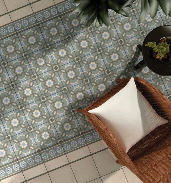 moroccan impressions retro floor tiles. Black Bedroom Furniture Sets. Home Design Ideas