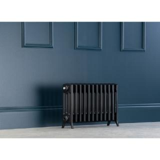 Edwardian Radiator 450mm - 12 Sections - Anthracite