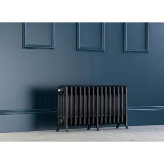Edwardian Radiator 450mm - 15 Sections - Anthracite