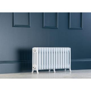 Edwardian Radiator 450mm - 15 Sections - White