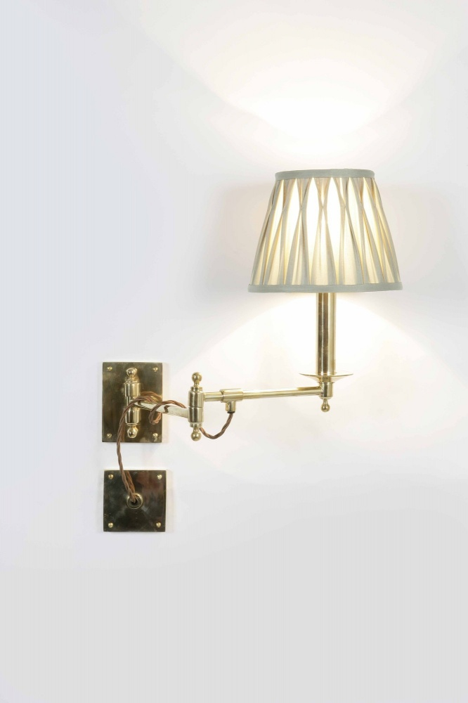 Parlour swing arm wall light mozeypictures Images