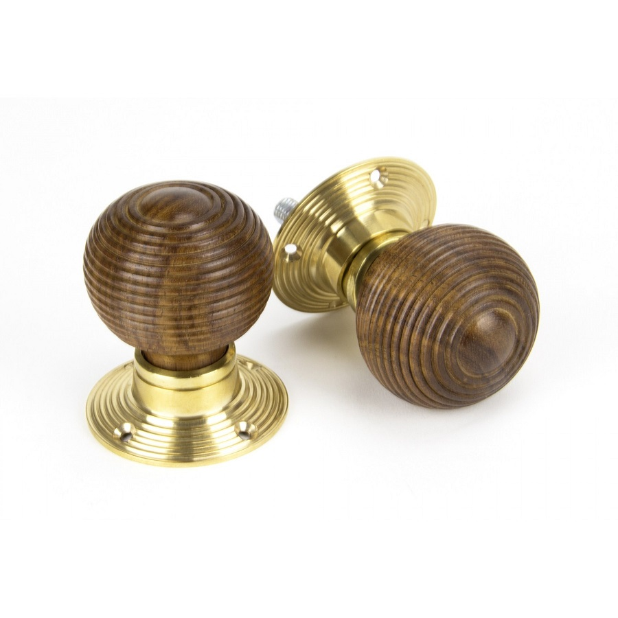 Rosewood and PB Cottage Mortice/Rim Knob Set - Small