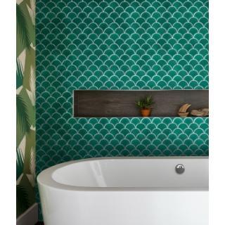 739dcde9719e Atlantis Scallop Porcelain Emerald