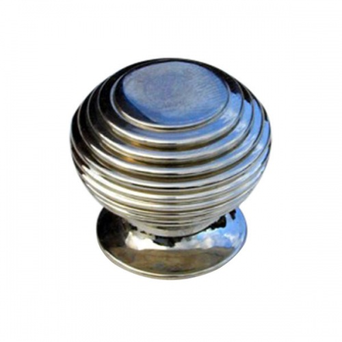 Small Beehive Cupboard Knob Nickel