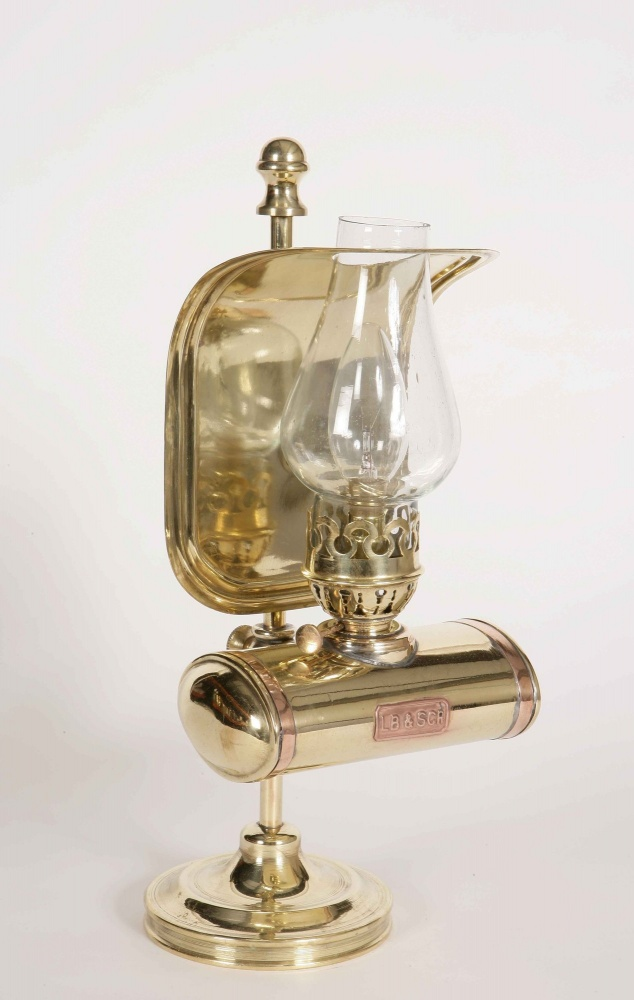 Station masters solid brass table lamp aloadofball Image collections