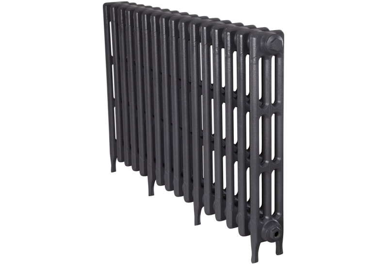 Victorian 3 Cast Iron Radiators 735mm - 16 Section