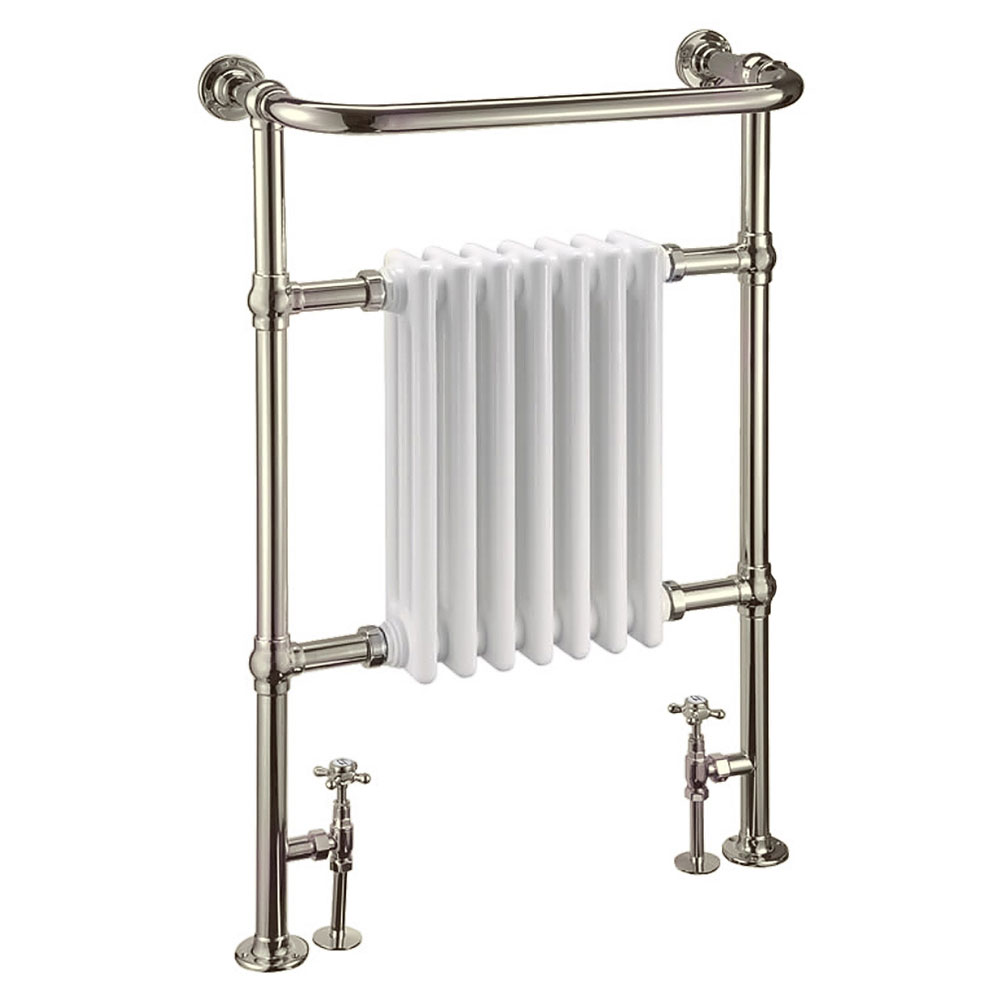 Arcade Lansdowne Towel Radiator - Nickel