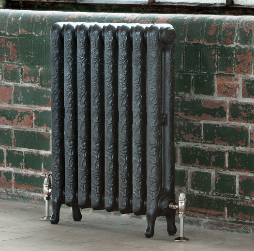 Art Nouveau Cast Iron Radiator 750mm