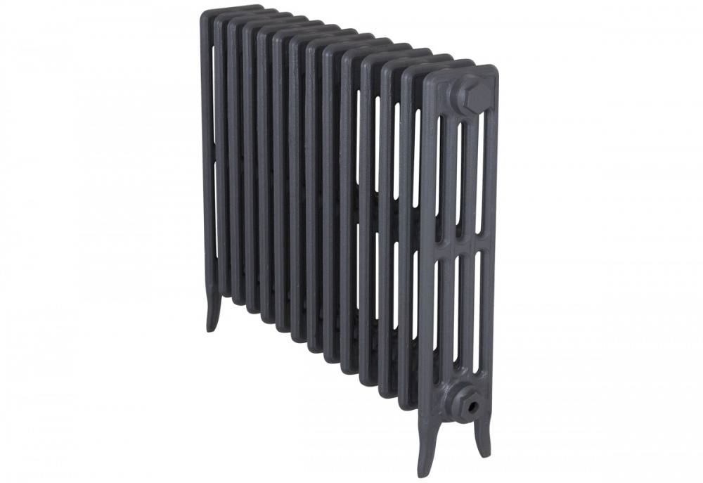 Victorian 4 Cast Iron Radiators 660mm - 14 Section