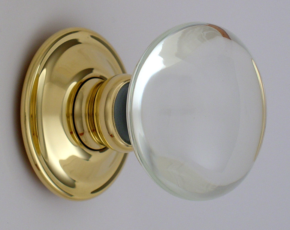 Smooth Glass Door Knobs