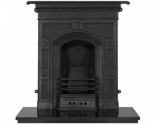The Hawthorne Cast Iron Fireplace