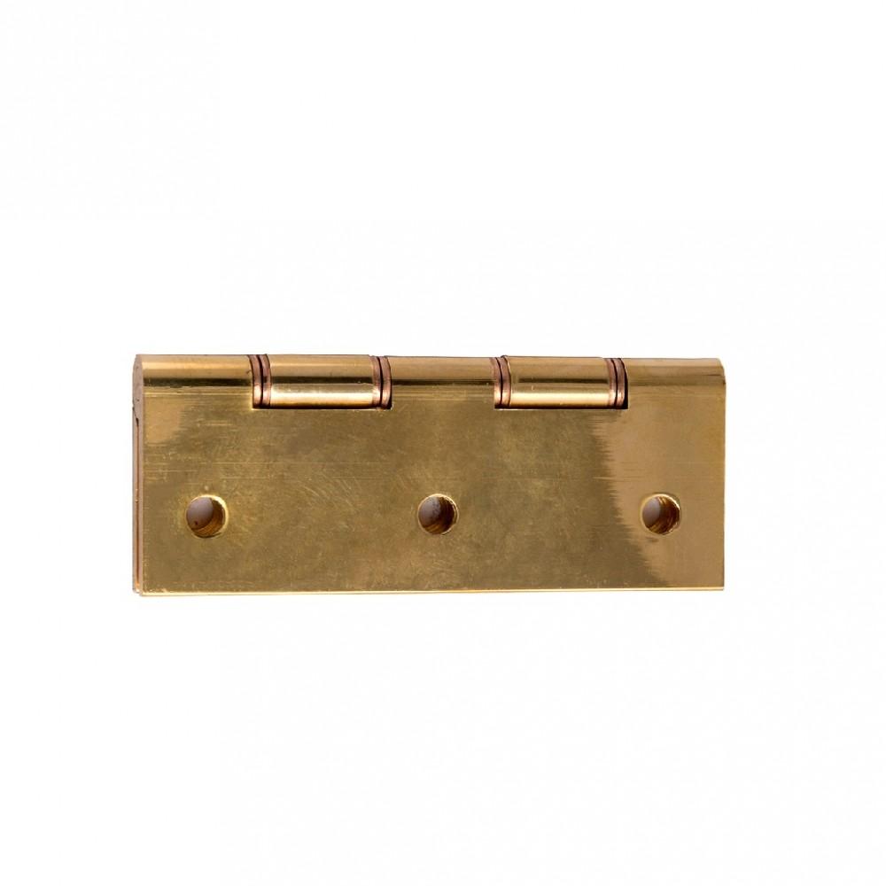 Asec AS1504 Double Phosphor Bronze Washer Internal Door Hinge Polished Chrome