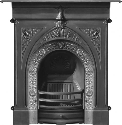 The Knaresborough Cast Iron Fireplace