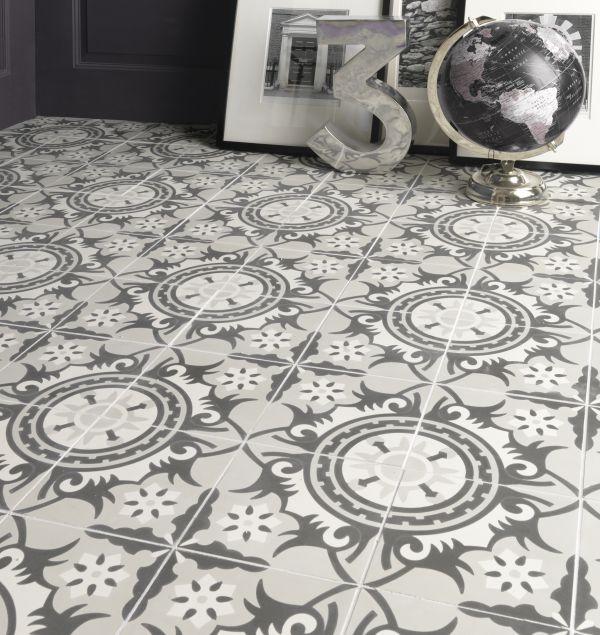 Encaustic Marrakech Pattern Tile