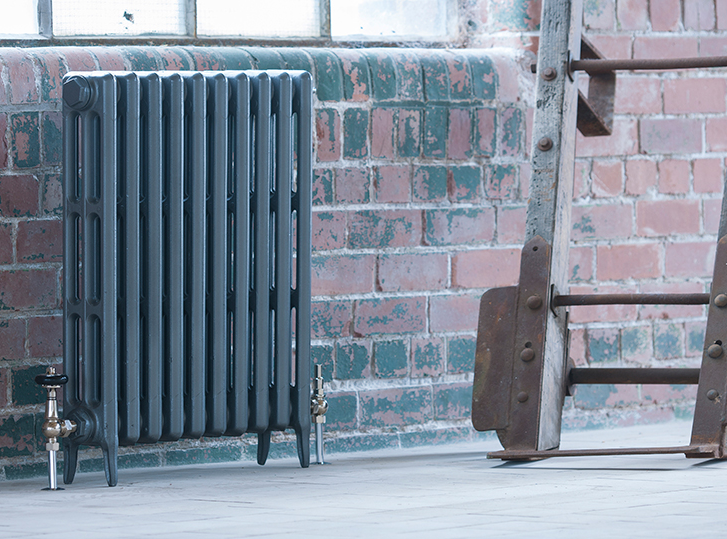 Neo-Classic 3 Column Arroll Cast Iron Radiator 745mm