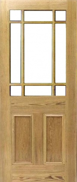 Bristol Casement Pitch Pine Door - Unglazed & Pitch Pine Doors - Bristol Casement Un-Glazed pezcame.com