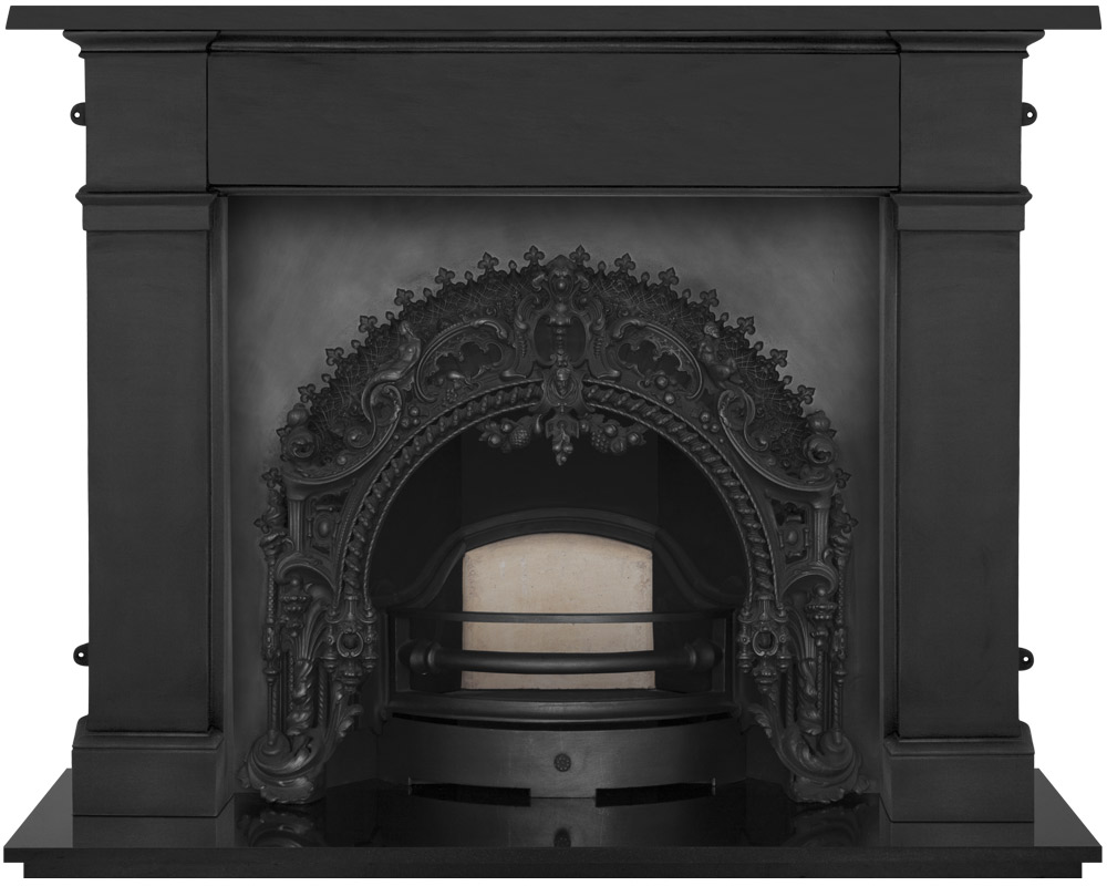 The Rococo Cast Iron Fireplace Package is part of our Period fireplace collection. Order online