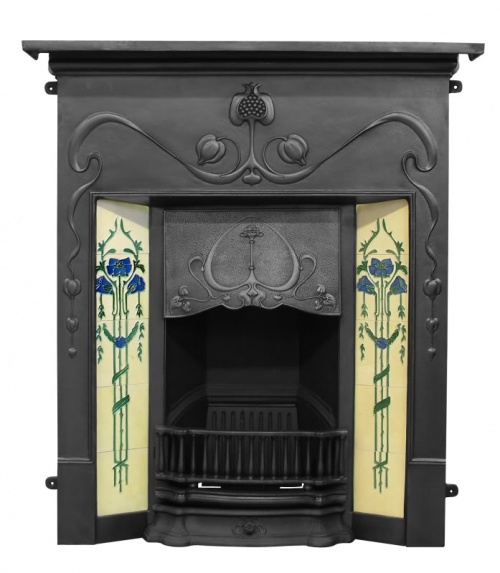The Valentine Cast Iron Fireplace