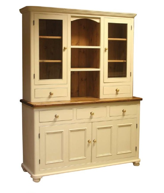 Glazed Dresser Round End 5'
