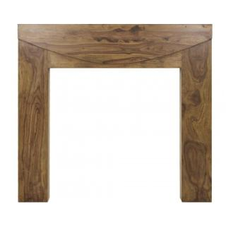 New Hampshire Wooden Fireplace Surround