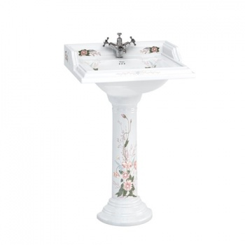 English Garden 65cm Basin and Round Pedestal