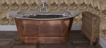 Copper Bath with Nickel Interior