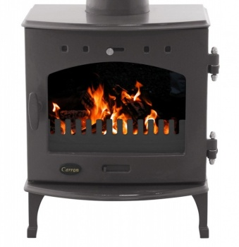 Carron Pebble Enamel 4.7kW DEFRA Smoke Exempt Multifuel Stove