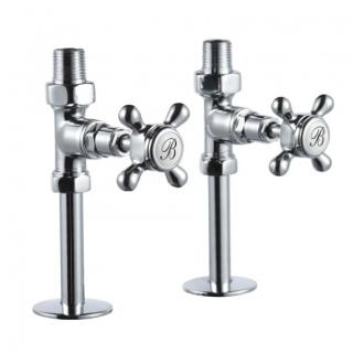 Burlington Straight Manual Radiator Valves