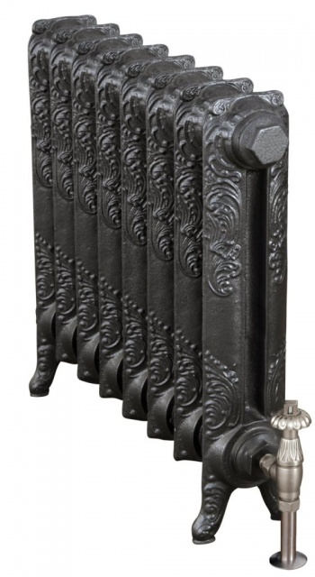 Rococo Cast Iron Radiator 560mm Single Column