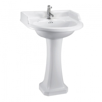 Classic round 65cm Basin and Pedestal