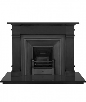 The Royal Cast Iron Fireplace Package
