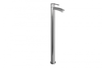 Sapphire Clearwater Single-Level Bath Filler On Stand Pipe Floor Standing