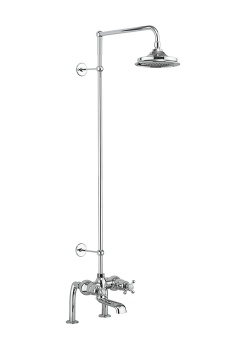 Tay Thermostatic Bath Shower Mixer Deck Mounted