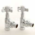 Belgravia Manual Chrome Radiator Valves