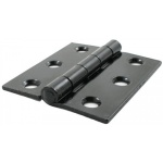 Black 3'' Butt Hinge (Pair)