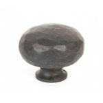 Beeswax Hammered Knob - Large