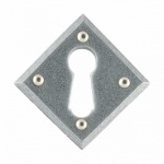 Pewter Diamond Escutcheon