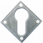 Pewter Diamond Euro Escutcheon
