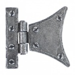 Pewter 2'' Half Butterfly Hinge (Pair)
