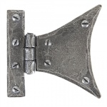 Pewter 3 1/4'' Half Butterfly Hinge (Pair)