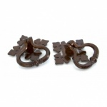 Bronze Shakespeare Ring Turn Handle Set