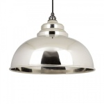 Smooth Nickel Interior Harborne Pendant