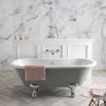 BC Designs Elmstead 1700mm Double Ended Bath & Overflow