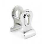 Polished Chrome 50mm Euro Door Pull (Back To Back Fixings)