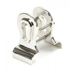 Polished Nickel 50mm Euro Door Pull (Back To Back Fixings)