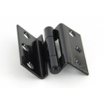 Black 2.5'' Stormproof Hinges (Pair)
