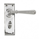 Polished Chrome Newbury Lever Bathroom Set