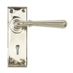 Polished Nickel Newbury Lever Lock Set