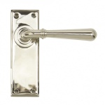 Polished Nickel Newbury Lever Latch Set