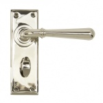 Polished Nickel Newbury Lever Bathroom Set
